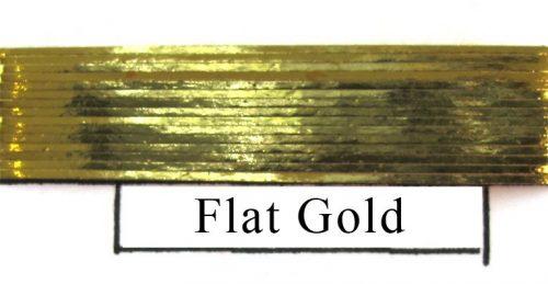 Flat Metallic Gold-0