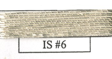 Imitation Silver - #6-0