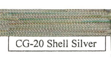 Colorful Metallic Shell Silver-0