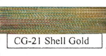 Colorful Metallic Shell Gold-0