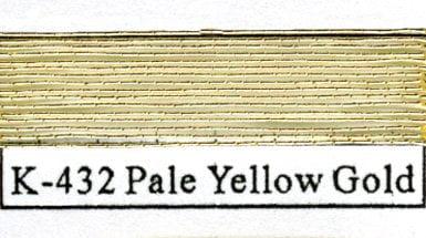 Kodaikin 432 Pale Yellow Gold - #4-0