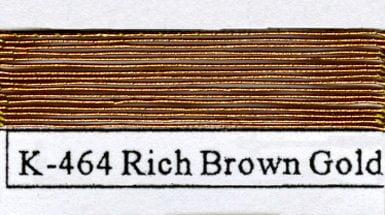 Kodaikin 464 Rich Brown Gold - #4-0