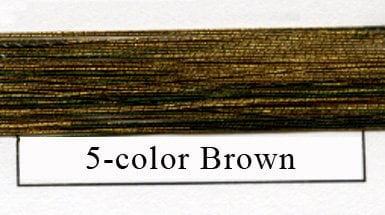 Special Metalics 5-color Brown - #1-0