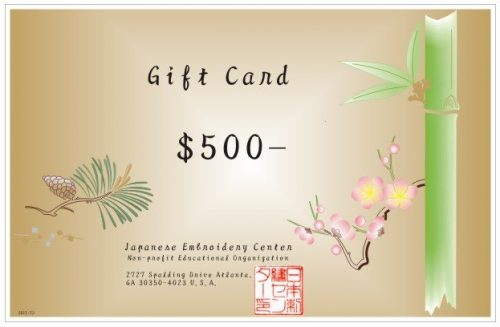 Gift Card - $500 (Printed)-0