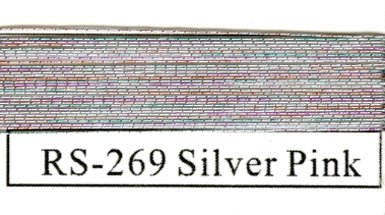 Rainbow Metallics #269 Silver Pink-0