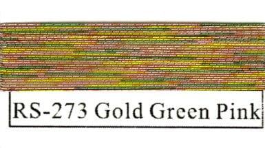 Rainbow Metallics #273 Gold Green Pink-0