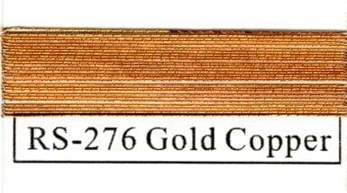 Rainbow Metallics #276 Gold Copper-0