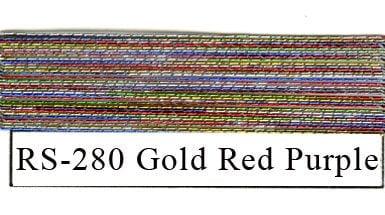 Rainbow Metallics #280 Gold Red Purple-0