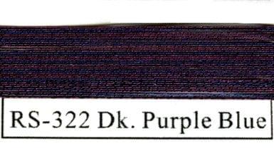 Rainbow Metallics #322 Dark Purple Blue-0