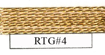Real Twisted Gold - #4-0