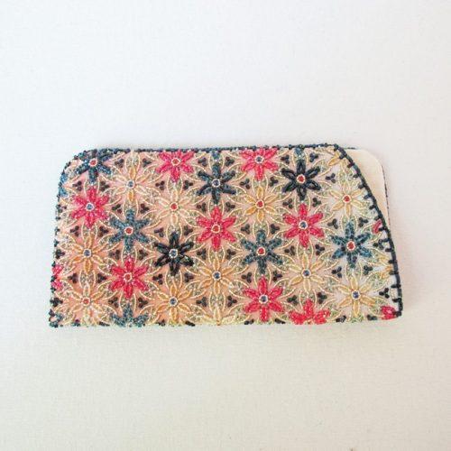Auction - Eyeglass Case -Bead Embroidery - Produced by Reiko Matsukawa-0