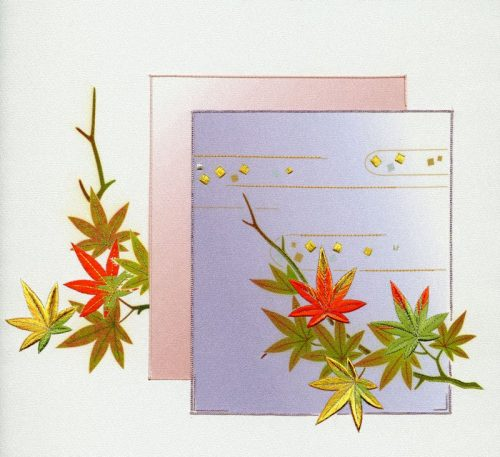 C12-03 Kyakurai - Autumn Poems - With Color-0