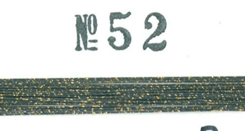 Real Lacquer with Sunago (Gold Dust) 052 - #1-0