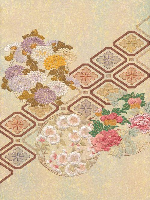 C15-06 Flower Circles with Shokko-0