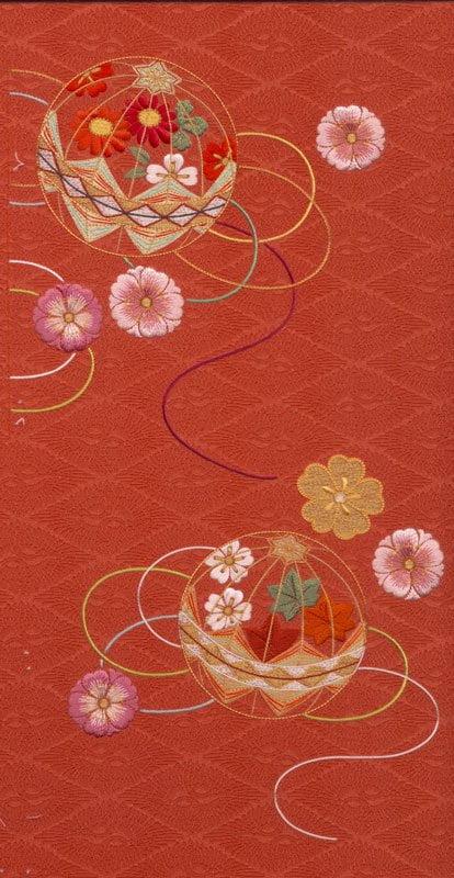 C15-07 Temari Balls with Flower-0