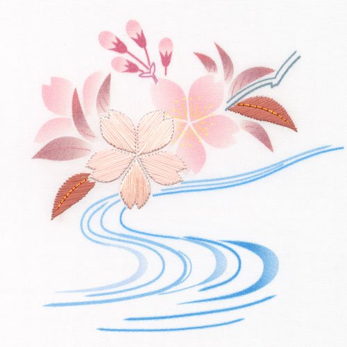 Taste of Japanese Embroidery Class-0