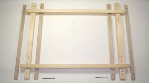 """Japanese Embroidery Frame (29"""") Maple-0"""